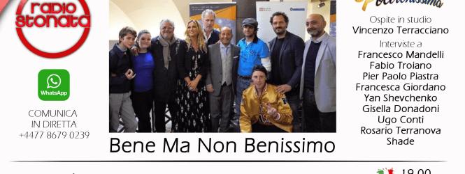 SHADE e il cast del film Bene ma non Benissimo ospiti a Poltronissima lunedì 4 giugno alle 19