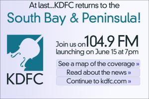 KDFC Announces Move to 104.9 FM