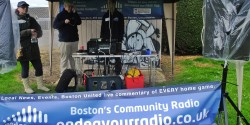 Endeavor Radio at a 2012 Sibsey Village fete.
