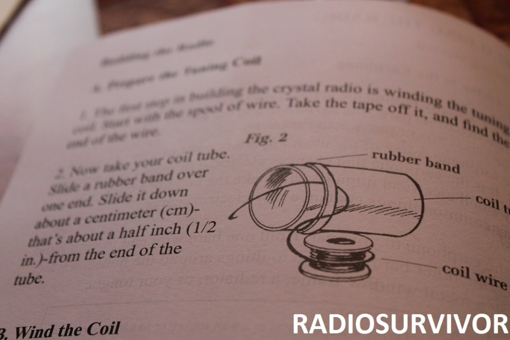 Slinky Crystal Radio instructions
