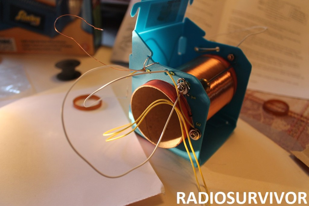 diode connected on radio