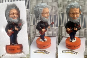 Jerry Bobbleheads for the KPFA 'thon.