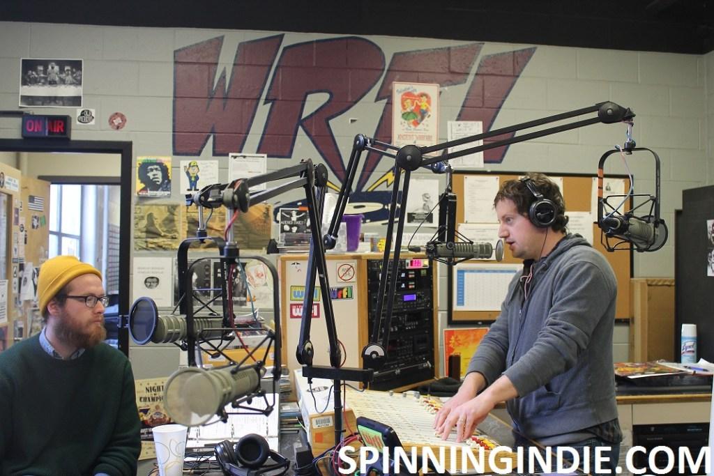 Ben Allen on the air at WRFL