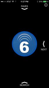 6 Seconds Home Screen