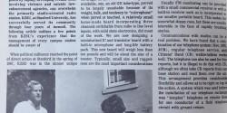 KZSU and Covering Campus Disturbances article