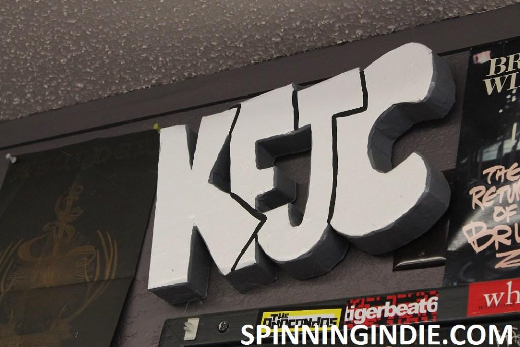 KFJC sign by Leo Blais