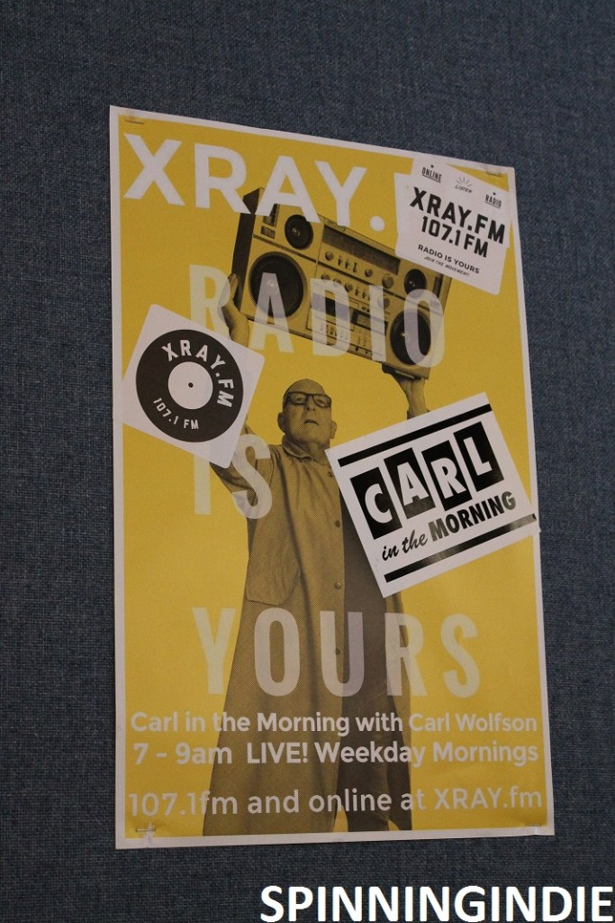 Poster for XRAY.fm show. Photo: J. Waits