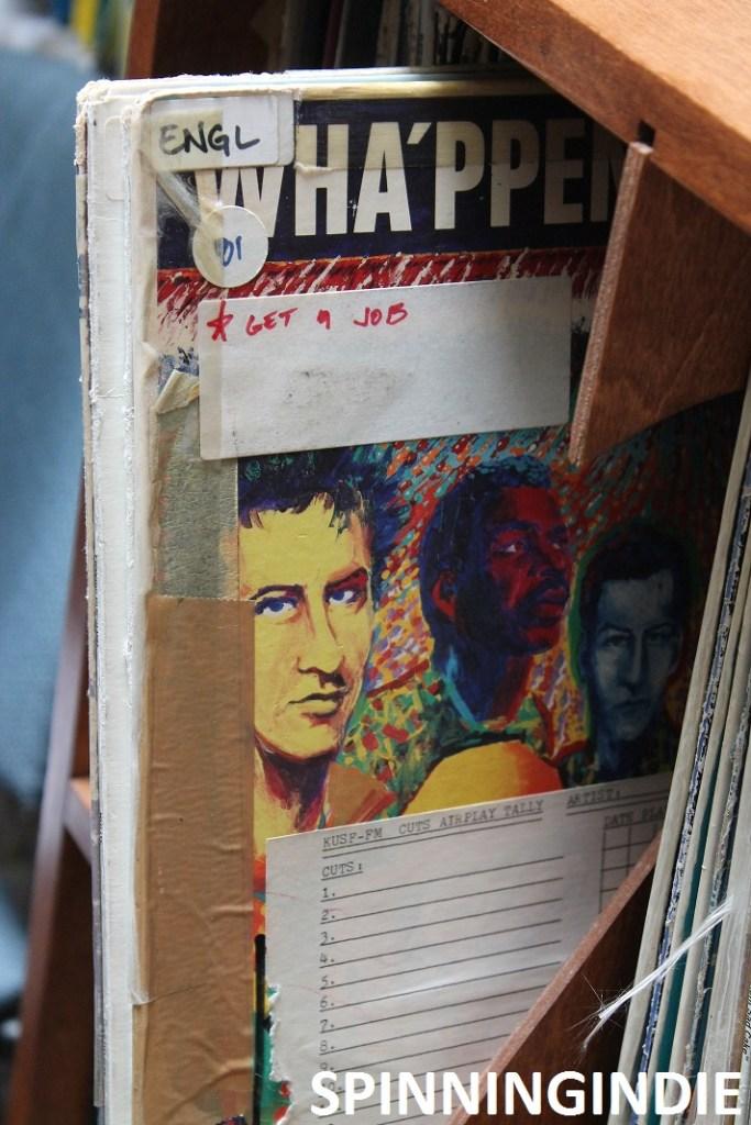 Vinyl at KUSF.org. Photo: J Waits