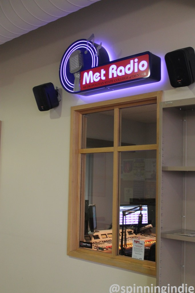 View of Met Radio from hallway. Photo: J. Waits