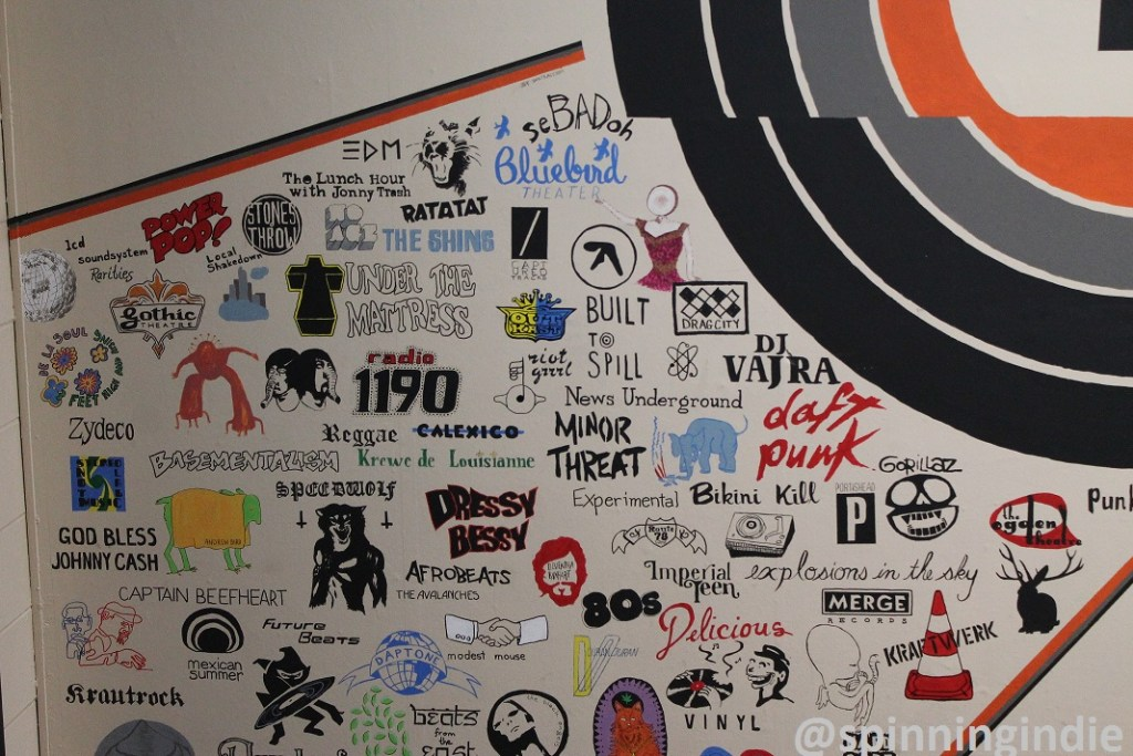 Radio 1190 mural. Photo: J. Waits