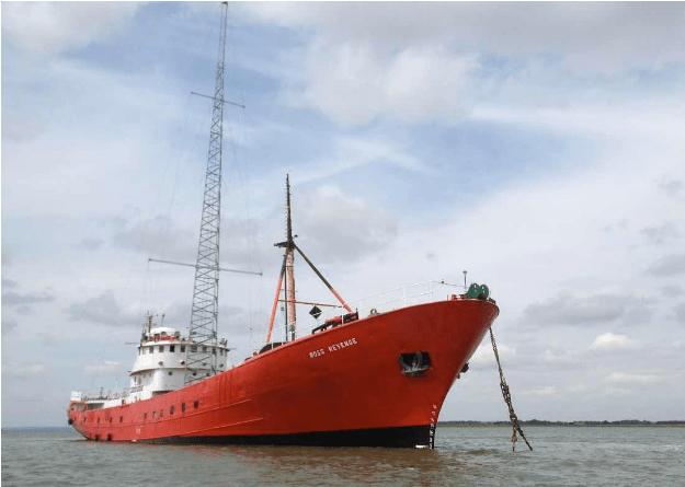 The Ross Revenge at Bradwell | Steve Anthony/Maritime Journal