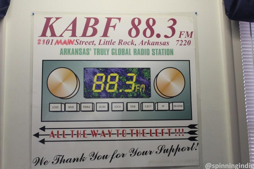 KABF sign. Photo: J. Waits