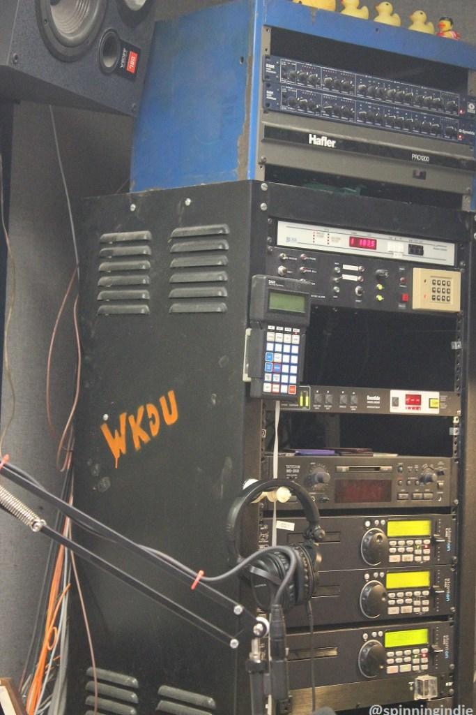 WKDU studio. Photo: J. Waits