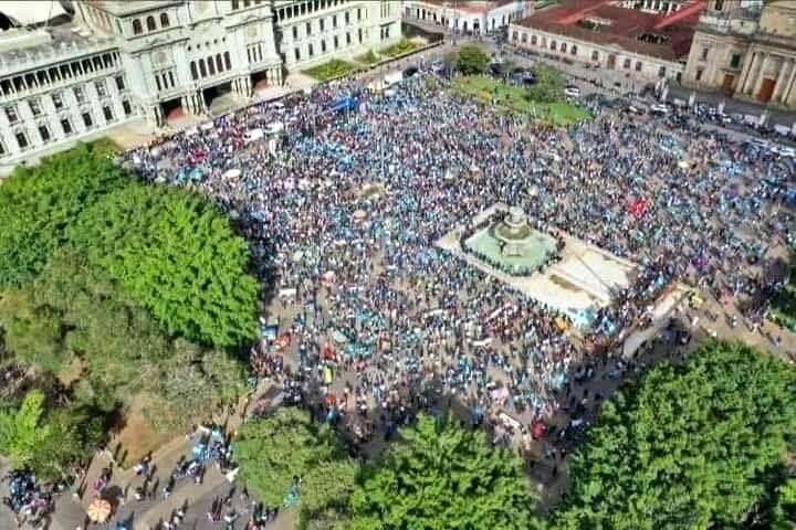 Guatemala. Dictadura del gobierno de Giammattei [Resumen]