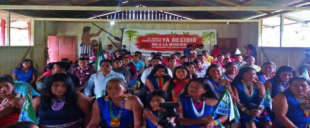 Pueblo Shuar Arutam anunció que iniciará demanda ante la OIT en contra el Estado Ecuatoriano