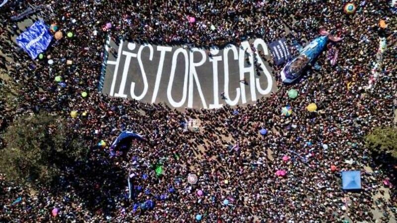 Somos históricas, entendimos la importancia de la lucha colectiva