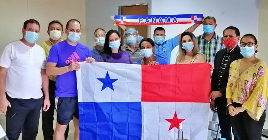 La Coordinadora Nacional de Solidaridad con Cuba-Capítulo Panamá Oeste visita a médicos de la Brigada internacionalista Henry Reeve