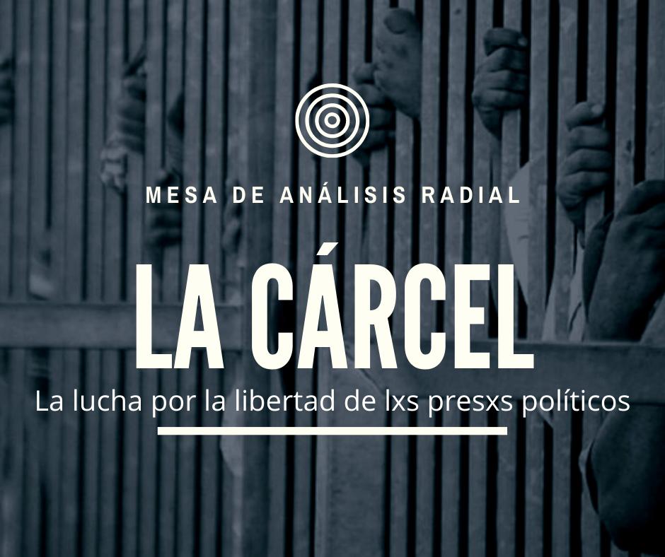 La Cárcel. La lucha por la libertad de lxs presxs políticos [Mesa de análisis radial]