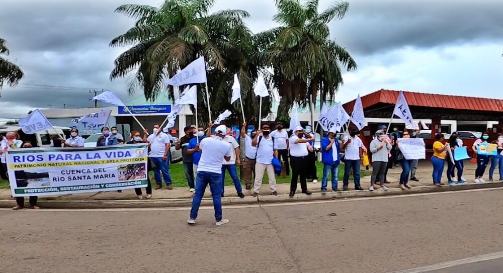 4º semana de protesta ante el extractivismo minero en Panamá [Multimedia]