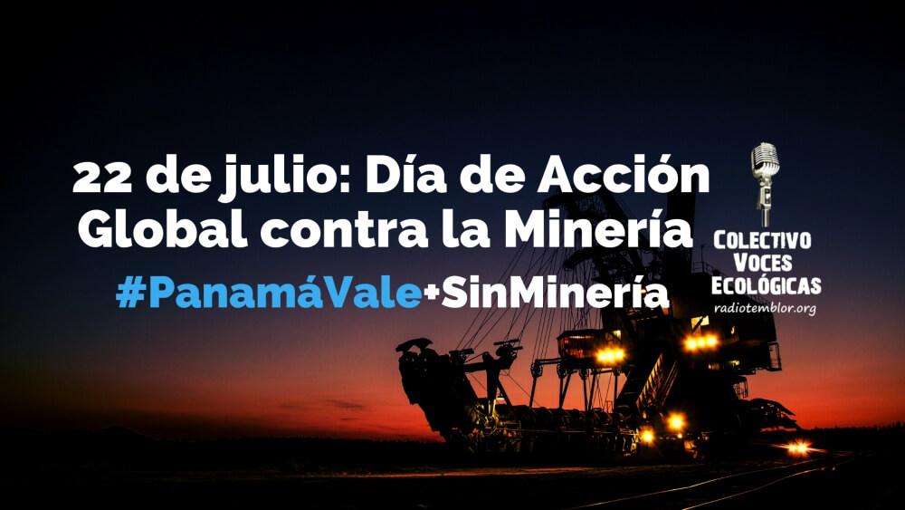 22 de julio: Día de Acción Global contra la Minería [Comunicado]