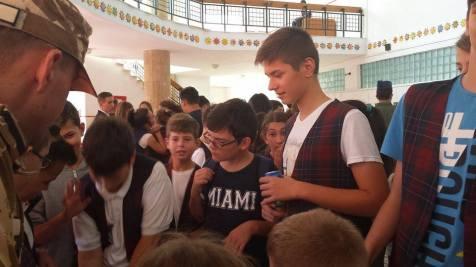 Ziua Armatei in scoli la Timisoara (2)