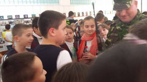 Ziua Armatei in scoli la Timisoara (3)