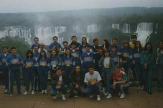 1996, Iguacu Falls