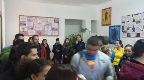 aglomeratie vot Complex Studentesc Timisoara (1)