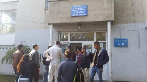 aglomeratie vot Complex Studentesc Timisoara (3)