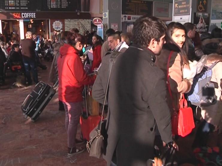 Aeroportul International Timisoara inchis viscol (5)