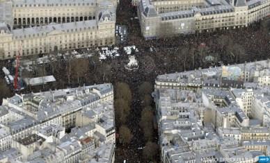 Marsul solidaritatii Paris AFP