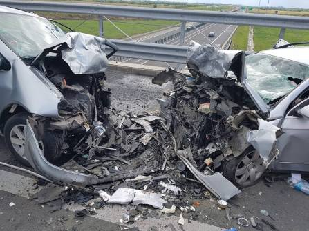 accident autostrada A 6 A 1 (1)