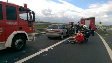 accident autostrada A 6 A 1 (5)
