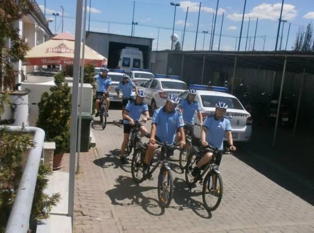 politia locala pe bicicleta