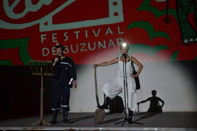 Gala de deschidere - prezentatori ceau cinema