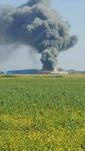 incendiu Sag ISU Timis (1)