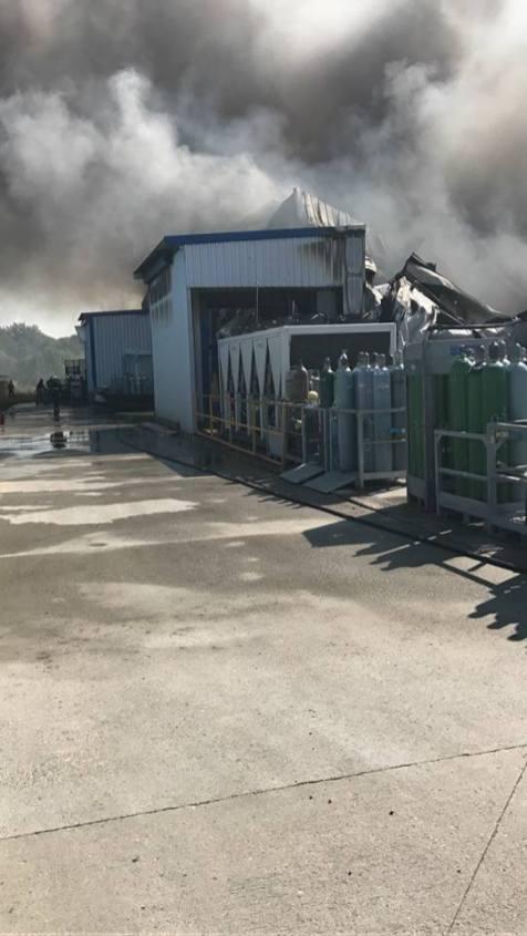 incendiu Sag ISU Timis (6)