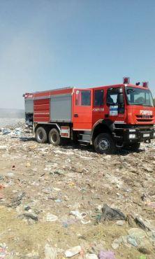 incendiu groapa de gunoi lipova (1)