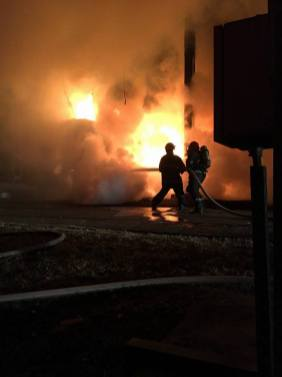 incendiu transformator mall (2)