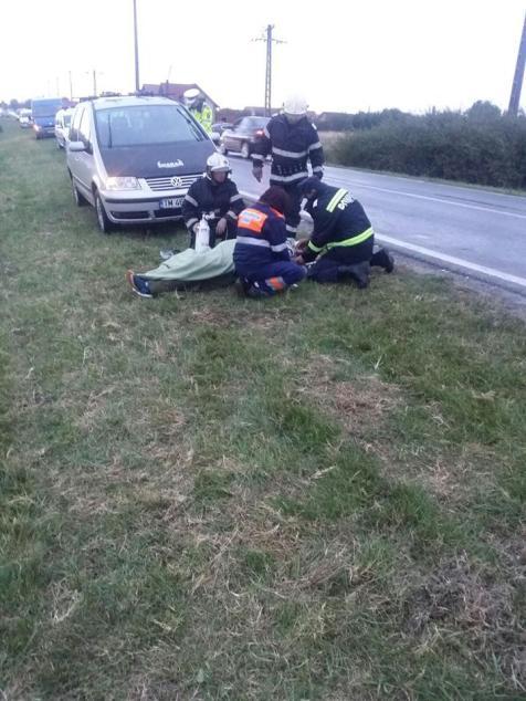 accident microbuz Sannicolau Mare (1)
