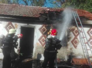 incendiu cladire dezafectata 2