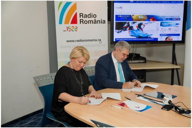 1Acord intre Radio Romania si TVR 6febr2018 - Foto Alexandru Dolea