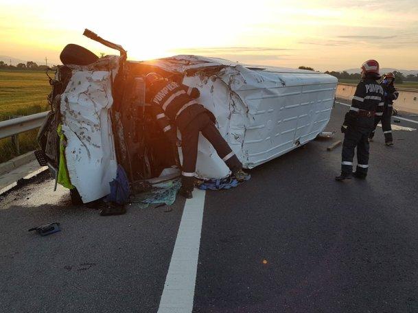 accident autostrada Deva Sebes 26 mai 2018 2
