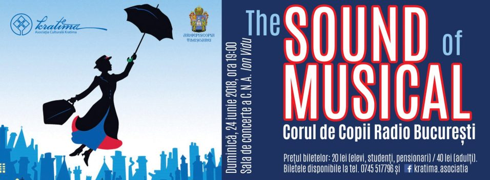 Timisoara - The Sound of Musical - afis