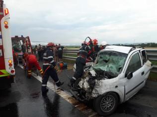 accident autostrada A1 contrasens (2)