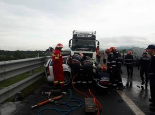 accident autostrada A1 contrasens (3)