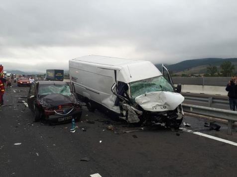 accident autostrada A1 contrasens (7)