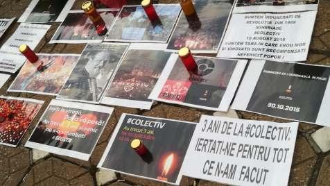 comemorare Colectiv la Timisoara (2)