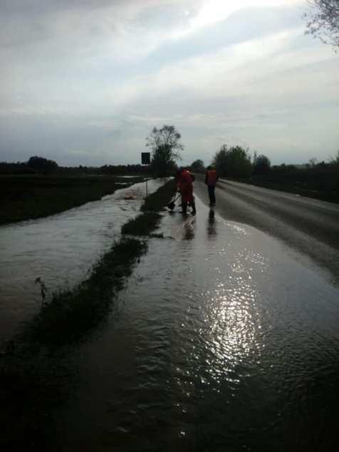 drum inundat DN 68 Obreja CS Foto DRDP 3