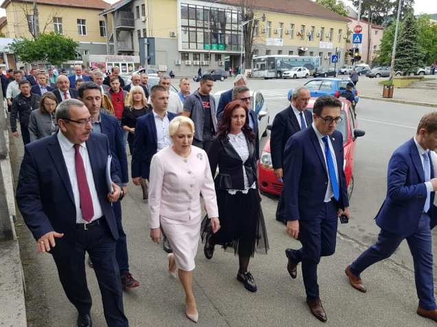 vizita Viorica Dancila in Hunedoara (2)